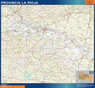 Mapa De Girona Provincia.Mapa Provincia Girona Plastificado Mapas Para Chile De