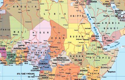 Mapa mundo zoom espanol