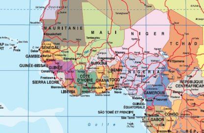 Mapa mundo zoom frances