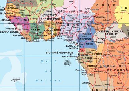 Mapa mundo zoom ingles